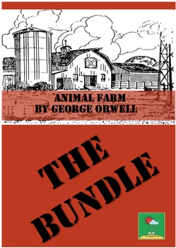 ANIMAL FARM -  GEORGE ORWELL~ BUNDLE