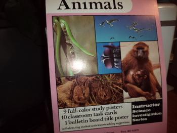 ANIMALS  POSTERS -INSTRUCTOR CURRICULUM MATERIALS