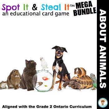 ANIMALS Spot It & Steal It (Ontario Curriculum - GROWTH AN