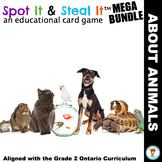 ANIMALS Spot It & Steal It (Ontario Curriculum - GROWTH AN
