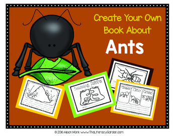 ANTS {Create Your Own Book}