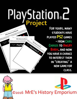ANY LESSON TYPE  PS2 project/activity