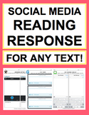 Literature Activities: NO PREP reading response handouts f