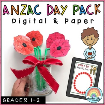 ANZAC Day Pack - Years 1-2