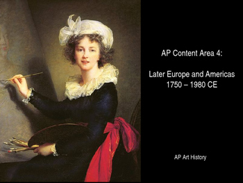 AP Art History Content Area 4 Review