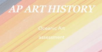 AP Art History : Oceanic art quiz/test