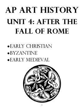 AP Art History Unit 4 Workbook: Europe After the Fall of Rome