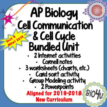 AP Biology Cell Communication Bundled Unit