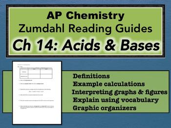 AP Chemistry Reading Guide Zumdahl Chapter 14 - Acids & Bases