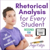 Rhetorical Analysis for Every Student (Style Analysis)