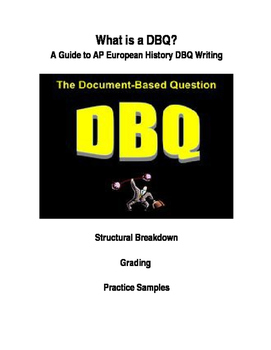 AP European History DBQ Overview Lecture / Intro, Notes, S