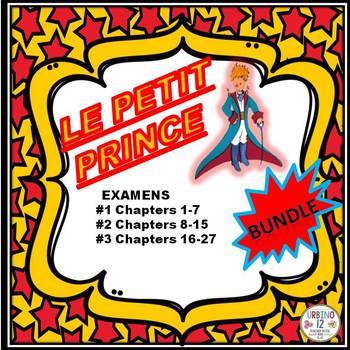 Le Petit Prince Examens BUNDLE