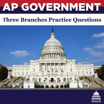 AP Government Institutions of Government Multiple Choice Practice