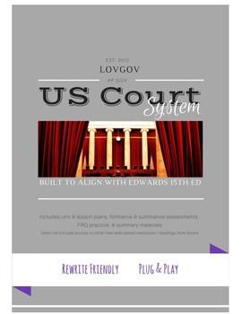 AP Government and Politics Judicial Unit