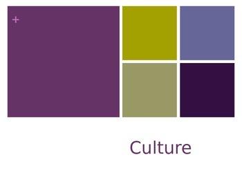 AP Human Geography - Culture (Pop v. Folk)