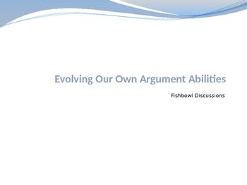 AP Language Argument Fishbowl Activity