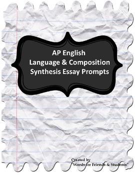 AP Language & Composition Synthesis Prompts