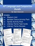 AP Language and Composition Bundle