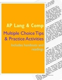 AP Language and Composition Multiple Choice Tips and Activities