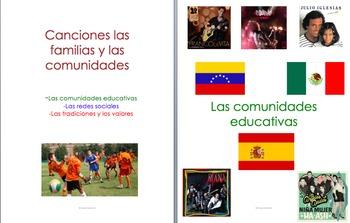 AP Spanish 10 canciones las familias y comunidades. Famili