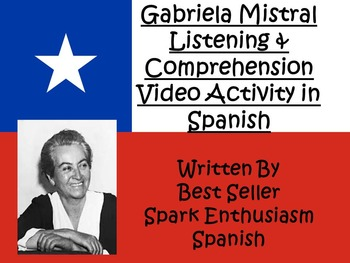 AP Spanish Gabriela Mistral Biography Listening and Compre