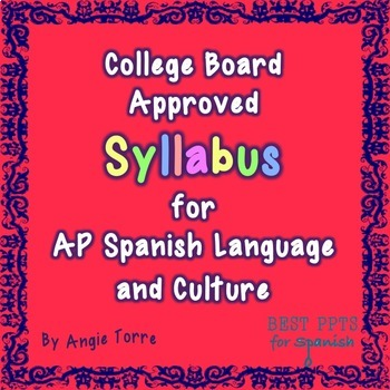 AP Spanish Language and Culture Syllabus