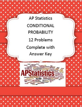 AP Statistics Conditional Probability Worksheet