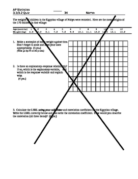 AP Stats Statistics Unit Bundle (Exploring Data) 4 Chapter