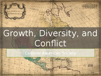 AP US History Key Period 2: Growth, Diversity, and Conflic
