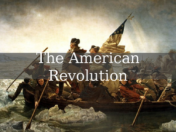 AP US History Key Period 3: The American Revolution PowerP