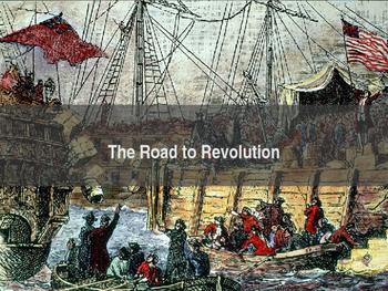 AP US History Key Period 3: The Road to Revolution PowerPo