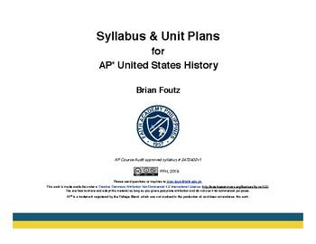 AP US History Syllabus and Unit Plans