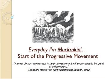 AP US History Unit 8 Resource Pack: Progressive Reforms &
