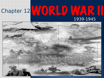 AP US History World War II Powerpoint