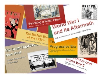 AP United States History - Period 7 PowerPoints - New Curr