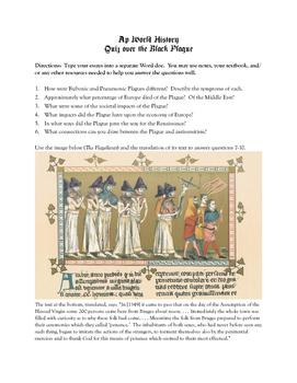 AP World History Black Plague Quiz