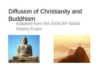 AP World History Buddhism and Christianity Comparison Essa