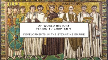 AP World History - Lecture 10 - Byzantium and Orthodox Europe
