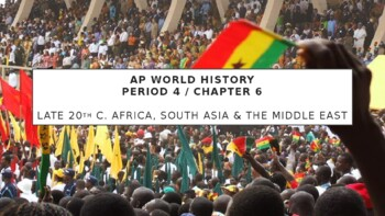 AP World History - Lecture 34 - Independence in Africa and Asia