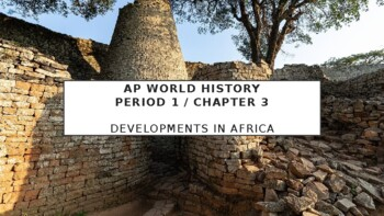 AP World History - Lecture 9 - Islam in Africa