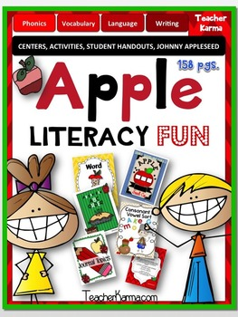APPLE Literacy Centers ~ Reading Learning Packet ~ Fall FU