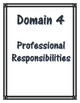 APPR Binder Domain 1-4 cover sheets