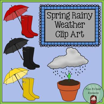 Spring Weather Clip Art