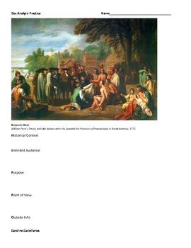 APUSH Document Analysis Practice for Period 2