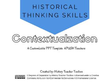 APUSH Historical Thinking Skill: Contextualization