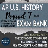 APUSH - Period 7 - Stimulus Based Multiple Choice - Part 1