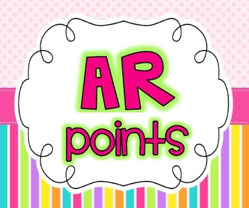 AR Banner {Keeping Track of Points}