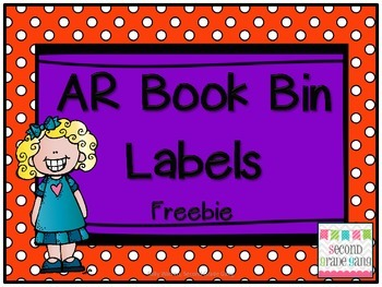 AR Book Bin Labels -FREEBIE-