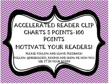 AR Clip Charts, 5-100 points
