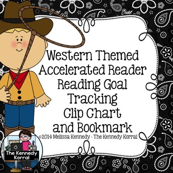 Accelerated Reader Clip Chart {Western Themed}